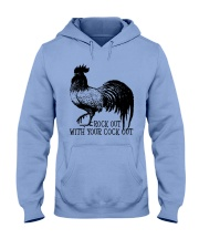 Rock Out With Your Cock Out Hooded Sweatshirt front