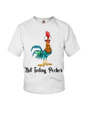 Not Today Pecker Youth T-Shirt thumbnail