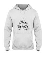 Be Freedom Hooded Sweatshirt front