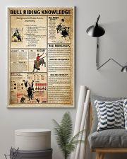 Bull Riding Knowledge 11x17 Poster lifestyle-poster-1