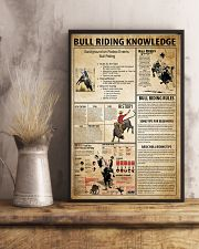 Bull Riding Knowledge 11x17 Poster lifestyle-poster-3