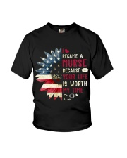 Became A Nurse Youth T-Shirt thumbnail