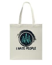 I Hate People Tote Bag thumbnail