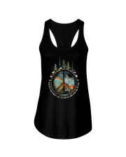 And Into The Forest I Go 1 Ladies Flowy Tank thumbnail