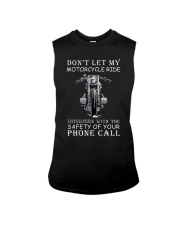 Dont Let My Motorcycle Ride Sleeveless Tee thumbnail