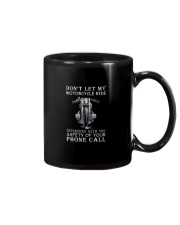 Dont Let My Motorcycle Ride Mug tile