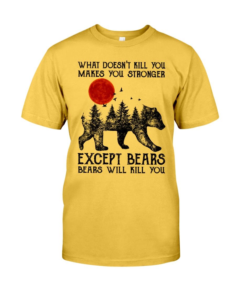 Bear Will Kill You Classic T-Shirt