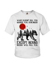 Bear Will Kill You Youth T-Shirt thumbnail