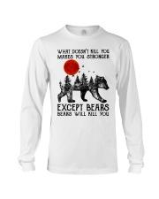 Bear Will Kill You Long Sleeve Tee thumbnail