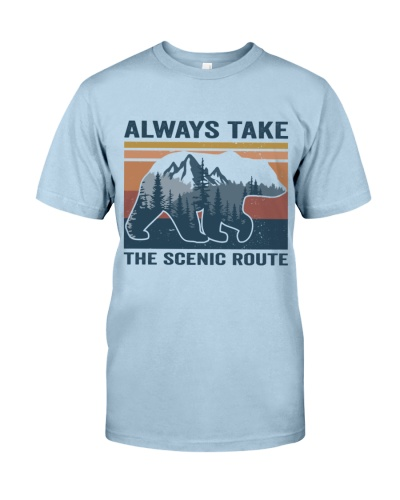 Alwyas Take The Scenic Route