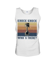 Knock Knock Who's There Unisex Tank thumbnail