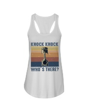 Knock Knock Who's There Ladies Flowy Tank thumbnail