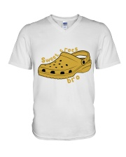 Sweet Crocs Bro V-Neck T-Shirt thumbnail