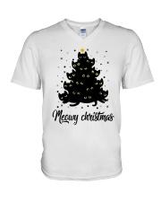 Merry Christmas V-Neck T-Shirt thumbnail