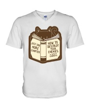 Just One More Chapter V-Neck T-Shirt thumbnail