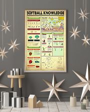 Softball Knowledge 11x17 Poster lifestyle-holiday-poster-1