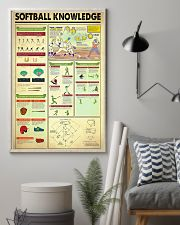 Softball Knowledge 11x17 Poster lifestyle-poster-1