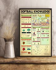 Softball Knowledge 11x17 Poster lifestyle-poster-3