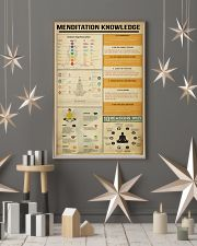Menditation Knowledge 11x17 Poster lifestyle-holiday-poster-1