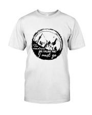 Mountain Biking Classic T-Shirt front