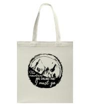 Mountain Biking Tote Bag thumbnail