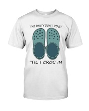 The Party Don't Start Premium Fit Mens Tee thumbnail