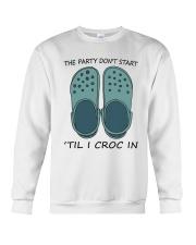 The Party Don't Start Crewneck Sweatshirt thumbnail