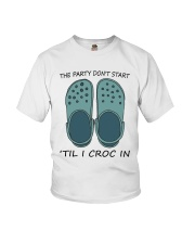 The Party Don't Start Youth T-Shirt thumbnail