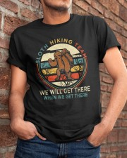 Sloth Hiking Team Classic T-Shirt apparel-classic-tshirt-lifestyle-26