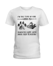 Dogs And Teaching Ladies T-Shirt thumbnail