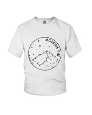Mountains Time Youth T-Shirt thumbnail