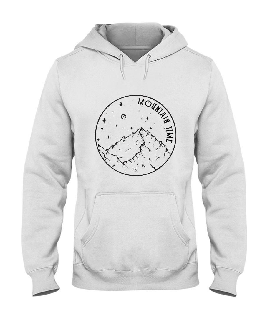 Mountains Time Hooded Sweatshirt