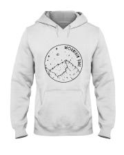 Mountains Time Hooded Sweatshirt front