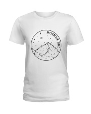 Mountains Time Ladies T-Shirt thumbnail