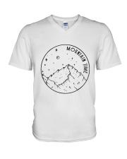 Mountains Time V-Neck T-Shirt thumbnail