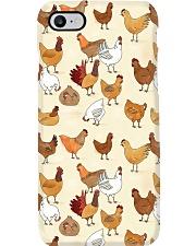 Chickens Phone Case i-phone-8-case