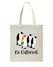Be Different Tote Bag tile