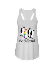 Be Different Ladies Flowy Tank tile