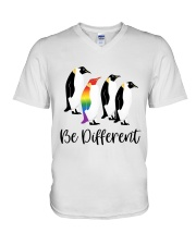 Be Different V-Neck T-Shirt tile