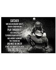 Catcher Who Has An Uncany Ability 17x11 Poster front