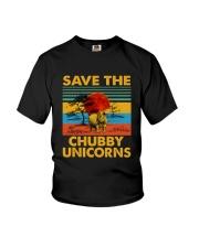 Save The Chubby Unicorn Youth T-Shirt thumbnail