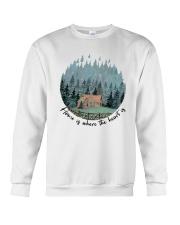 Home Is Where The Heart Is Crewneck Sweatshirt thumbnail