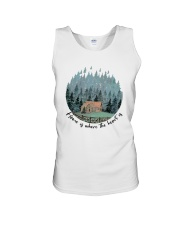Home Is Where The Heart Is Unisex Tank thumbnail