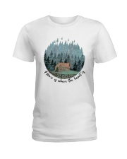 Home Is Where The Heart Is Ladies T-Shirt thumbnail