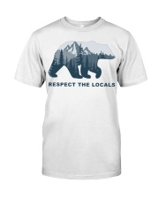 Respect The Locals Classic T-Shirt tile