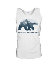 Respect The Locals Unisex Tank thumbnail