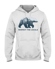 Respect The Locals Hooded Sweatshirt thumbnail