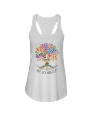 Be Yourself Ladies Flowy Tank thumbnail