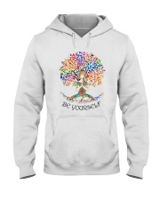 Be Yourself Hooded Sweatshirt front