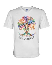 Be Yourself V-Neck T-Shirt thumbnail